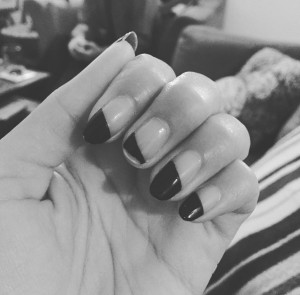 Image of my broken nails from my Instagram account.
