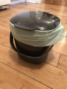 My Compost Bin - pretty cute, huh?