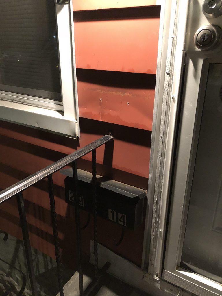 Old, sad mailbox