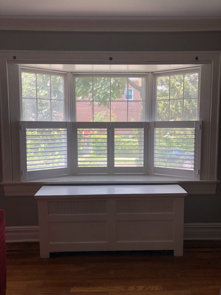 Shutters finally installed!